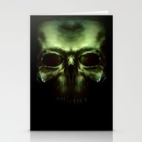 aliens Stationery Cards featuring Aliens by Jav S.