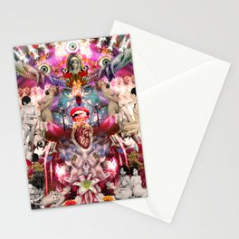 Intergalactic Orgasm Stationery Cards