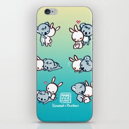 Kowawa x Bunbun Teal Version iPhone Skin