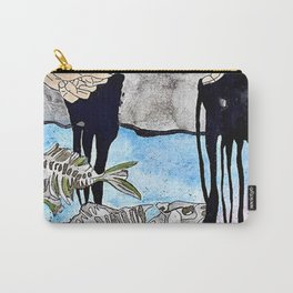 Pollution at Our Hands Carry-All Pouch