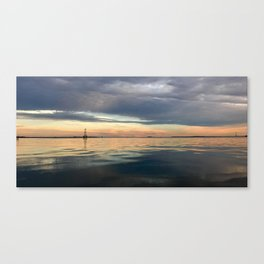 Charleston Ocean & Sky Canvas Print