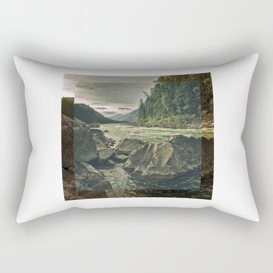 the river 5 Rectangular Pillow