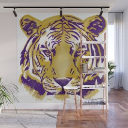 Geaux Tigers Wall Mural
