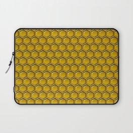 Honeycomb Bee Pattern Laptop Sleeve