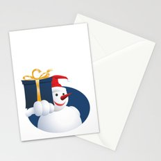 Giving Snowman... Stationery Cards