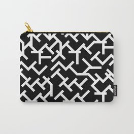 Geometric Labyrinth Carry-All Pouch