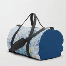 Lovely Spring Crocus Duffle Bag