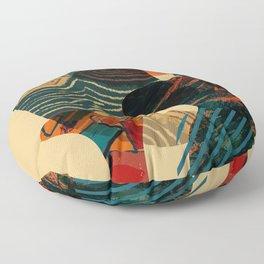 abstract illustration 1 Floor Pillow