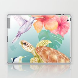 Tropical paradise Laptop & iPad Skin