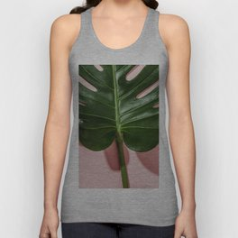 Monstera Unisex Tank Top