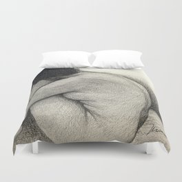Figure Drawing Duvet Cover