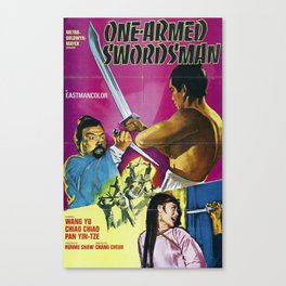 The One-Armed Swordsman Canvas Print