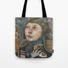 IMAGINARY ASTRONAUT Tote Bag