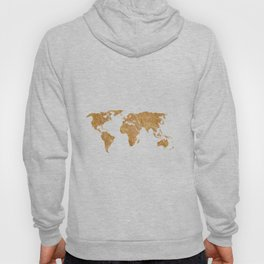 Gold World Hoody