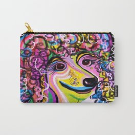 Picture Perfect Poodle Carry-All Pouch