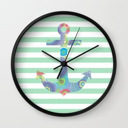 Pastel Party 4 Wall Clock