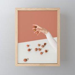 Lychee Framed Mini Art Print