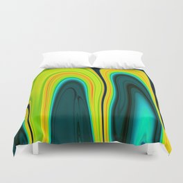 Abstract Fluid 17 Duvet Cover