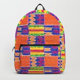 African Influence Textile Backpack