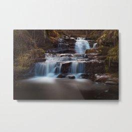 Lower Blaen y Glyn Falls Metal Print
