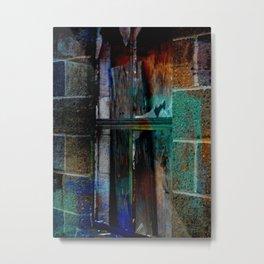 Through Yonder Window Breaks Metal Print