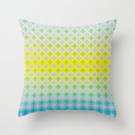 Remixed energy Throw Pillow