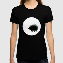 Hedgehog and Moon TSHIRT T-shirt