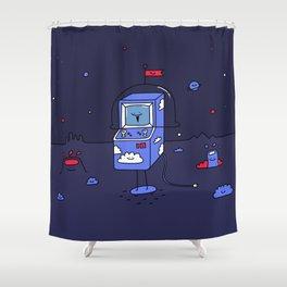 Dusky Arcade Shower Curtain