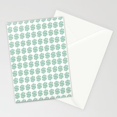 Mint Money Repeat Stationery Cards