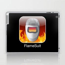 iPocalypse: Flame Suit Laptop & iPad Skin