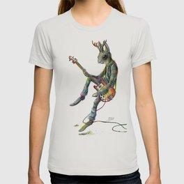 Jerguš The Jamming Jackalope T-shirt