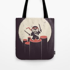 The Happiest Ninja in Town. Tote Bag