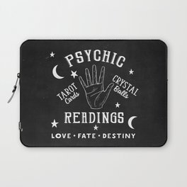 Psychic Readings Fortune Teller Art Laptop Sleeve