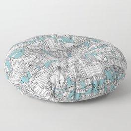NOTTINGHAM BLUE Floor Pillow