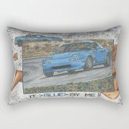 It blue by me. Rectangular Pillow