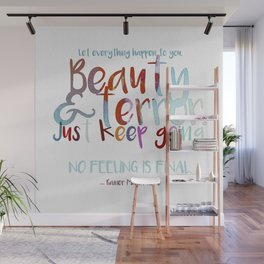 Beauty and Terror Wall Mural