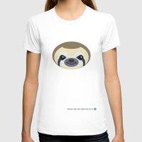 sloth T-shirts featuring Sloth by Mirukuru