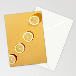 Yellow Lemons Stationery Cards