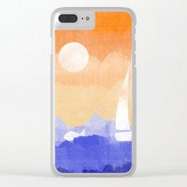 Sunny Seas Clear iPhone Case