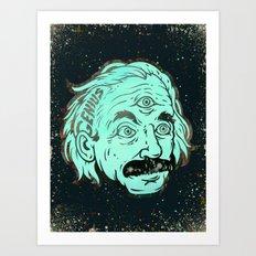 Genius Art Print