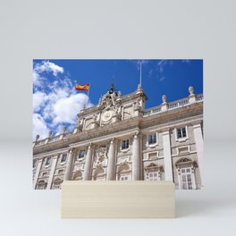 Palacio Real de Madrid Mini Art Print