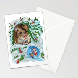 Happy New Year Surprise Stationery Cards