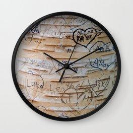 Love Memories in Lover's Lane, Green Gables Wall Clock