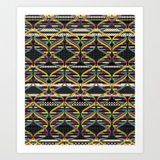 Pattern DNA Art Print