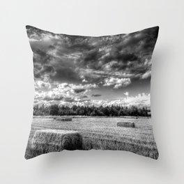 The Summer Field Throw Pillow