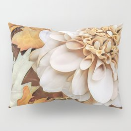 Autumn's Floral Pillow Sham