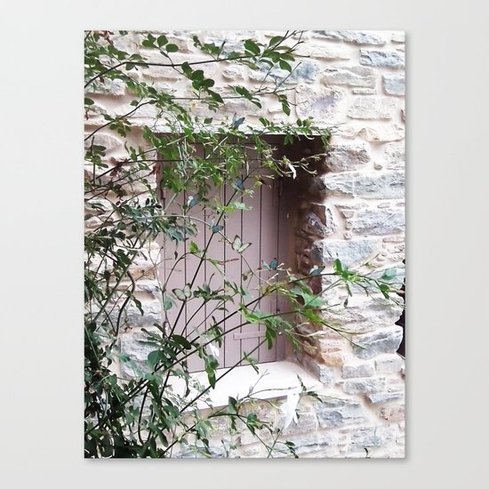 Window in Tinos Canvas Print