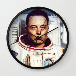 Elon Musk Wall Clock