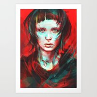 large Art Prints featuring Wasp by Alice X. Zhang