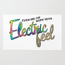 Electric feel Rug